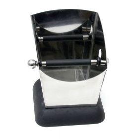 Small Espresso Knock Box with Rubber Base