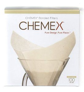 Chemex Bonded White ٍSquare Coffee Filters