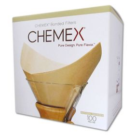 Chemex Bonded Natural Brown ٍSquare Coffee Filters