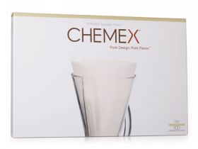 Chemex Coffee Filters - Unfolded 13 inch Filter Paper Half-Moon Circles