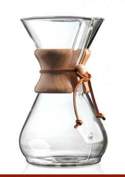 CHEMEX Eight Cup Classic Series Glass Coffeemaker