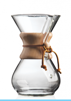 CHEMEX Six Cup Classic Series Glass Coffeemaker