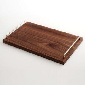 هولزكلوتز صينية تقديم من خشب الجوز