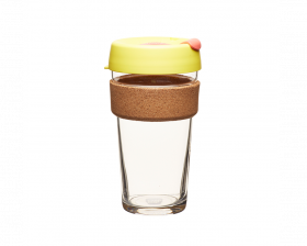 KeepCup Brew Limited Edition Cork - saffron Large