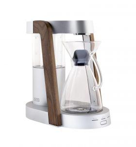 Ratio Eight Coffee Maker – Bright Silver -Walnut